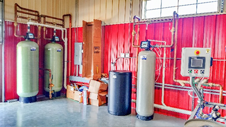 Carbon Filtration, Water Softening - Keg Creek Brewing