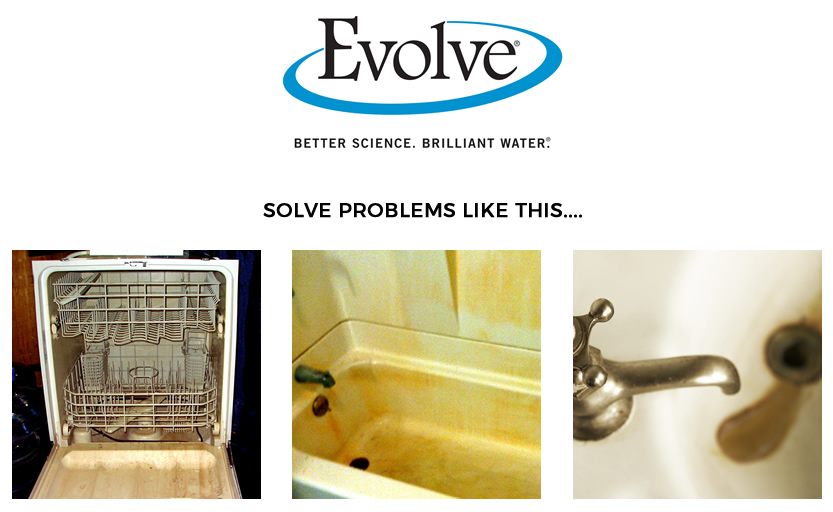 Evolve - rusty water solution